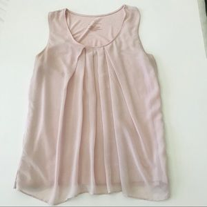 New York & Co Pink Blouse